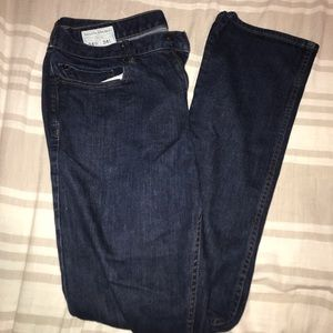 Banana Republic Slim Fit Jeans (Dark) (34W) (M)